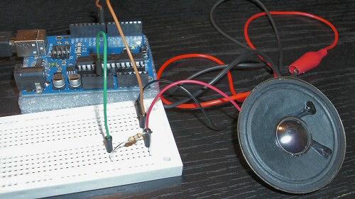 Arduino speaker